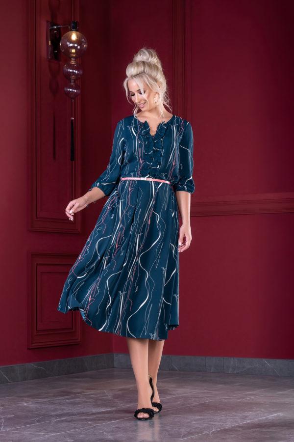 Платье 1375 (44-48) Autumn-Winter 2019/2020