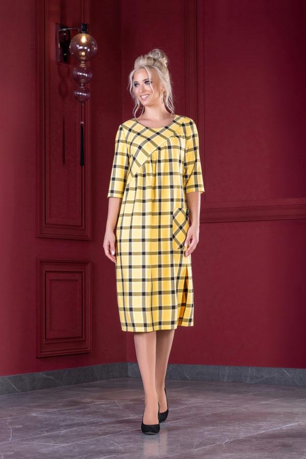 Платье 1376 (46-52) Autumn-Winter 2019/2020