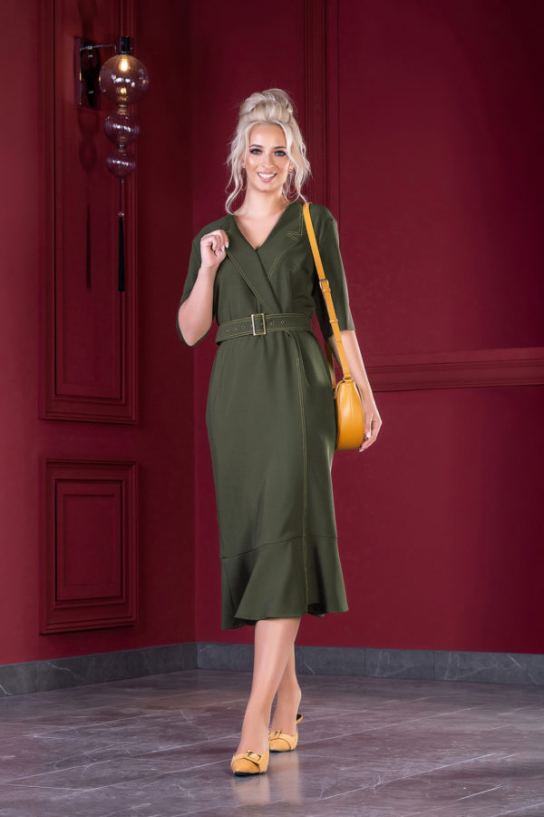 Платье 1386 (46-52) Autumn-Winter 2019/2020