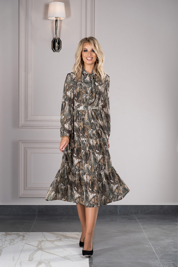 Платье 1408 (46-52) Autumn-Winter 2019/2020