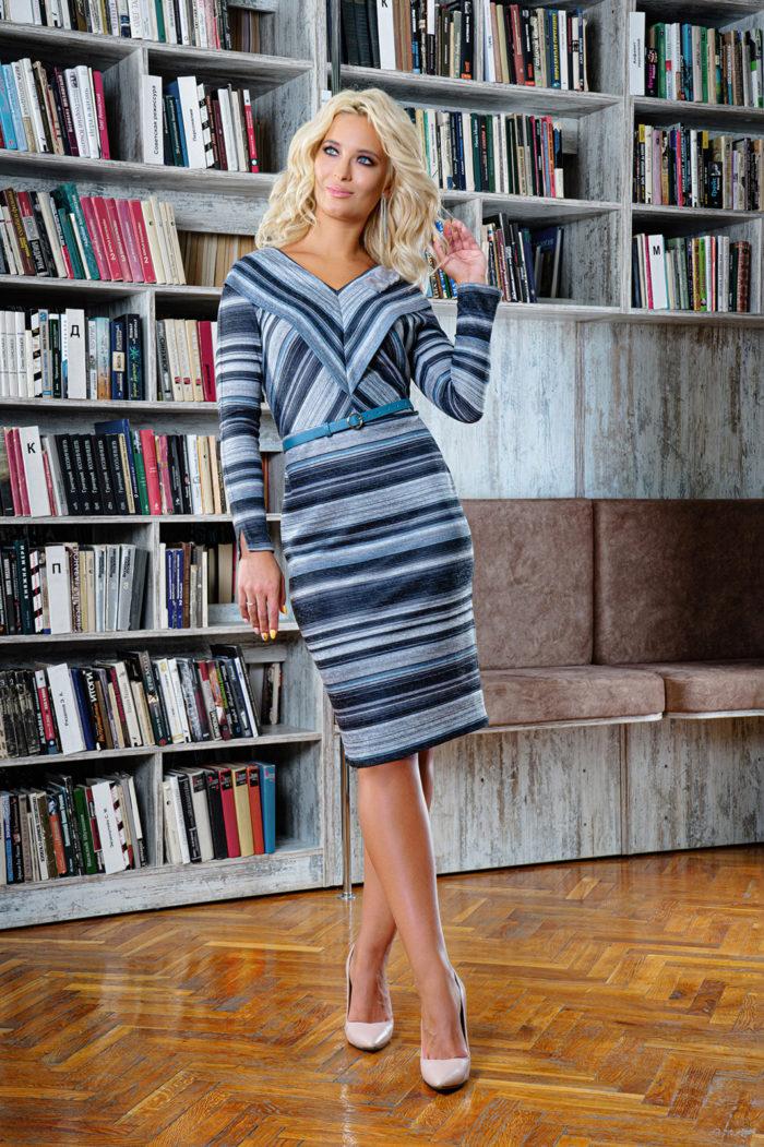 Платье 1412/1 (46-52) COLLECTION - 2019/2020