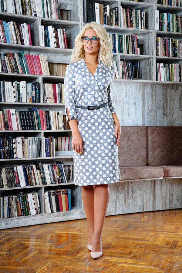 Платье 1442 (46-52) Autumn-Winter 2019/2020