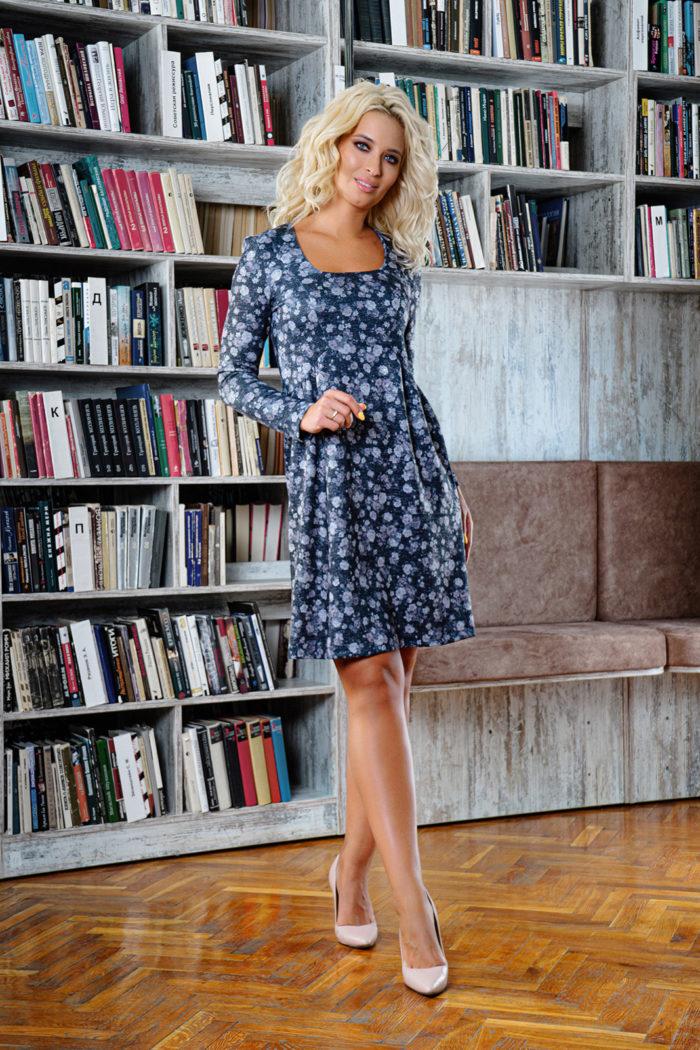 Платье 1444 (42-48) COLLECTION - 2019/2020