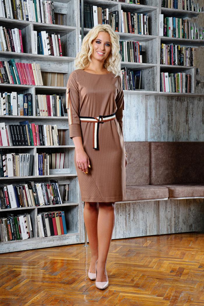 Платье 1449 (46-52) Autumn-Winter 2019/2020