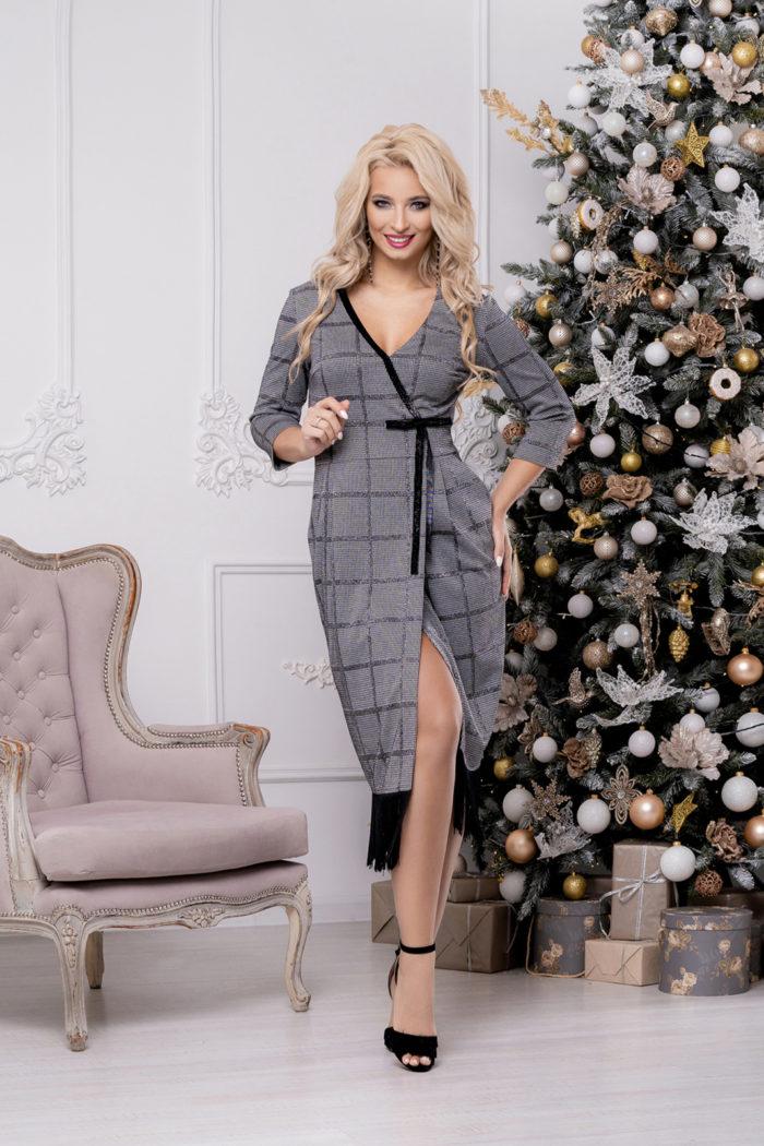 Платье 1459 (46-52) Christmas 2020