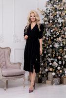 Платье 1466 (46-50) Christmas 2020
