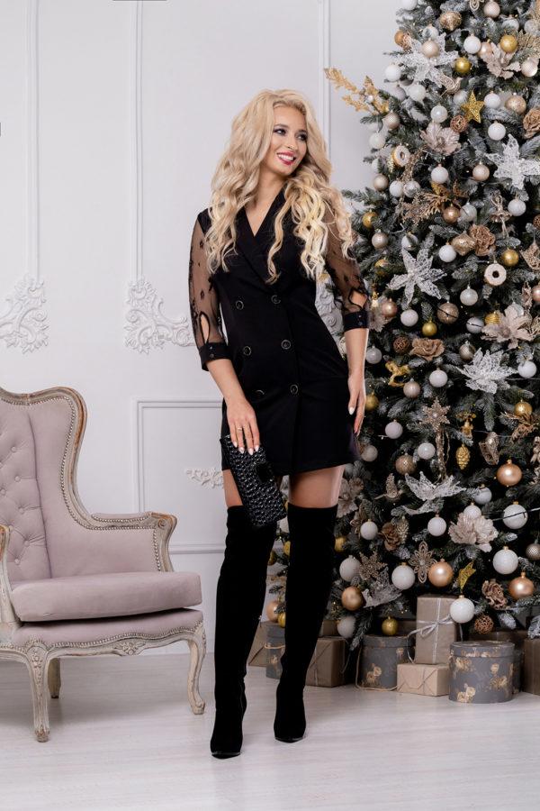Платье 1471 (42-50) Christmas 2020