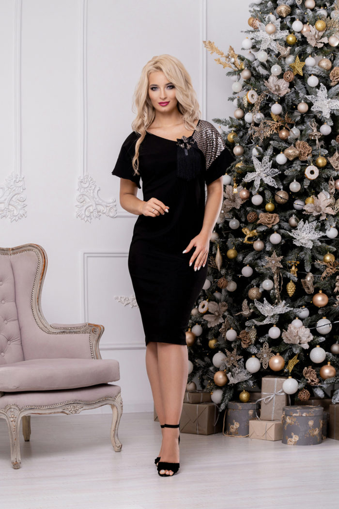 Платье 1472 (50-56) Christmas 2020