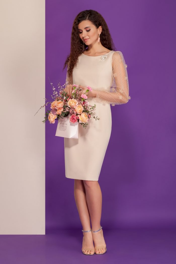Платье 1518 (44-50) SPRING TIME 2020