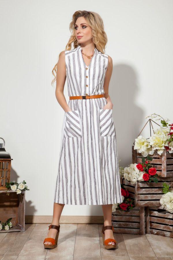 Платье 1361 (44-50) SUMMER TIME 2020