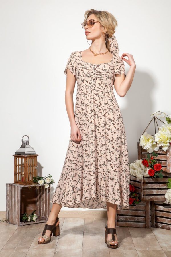 Платье 1524 (44-50) COLLECTION - 2019/2020