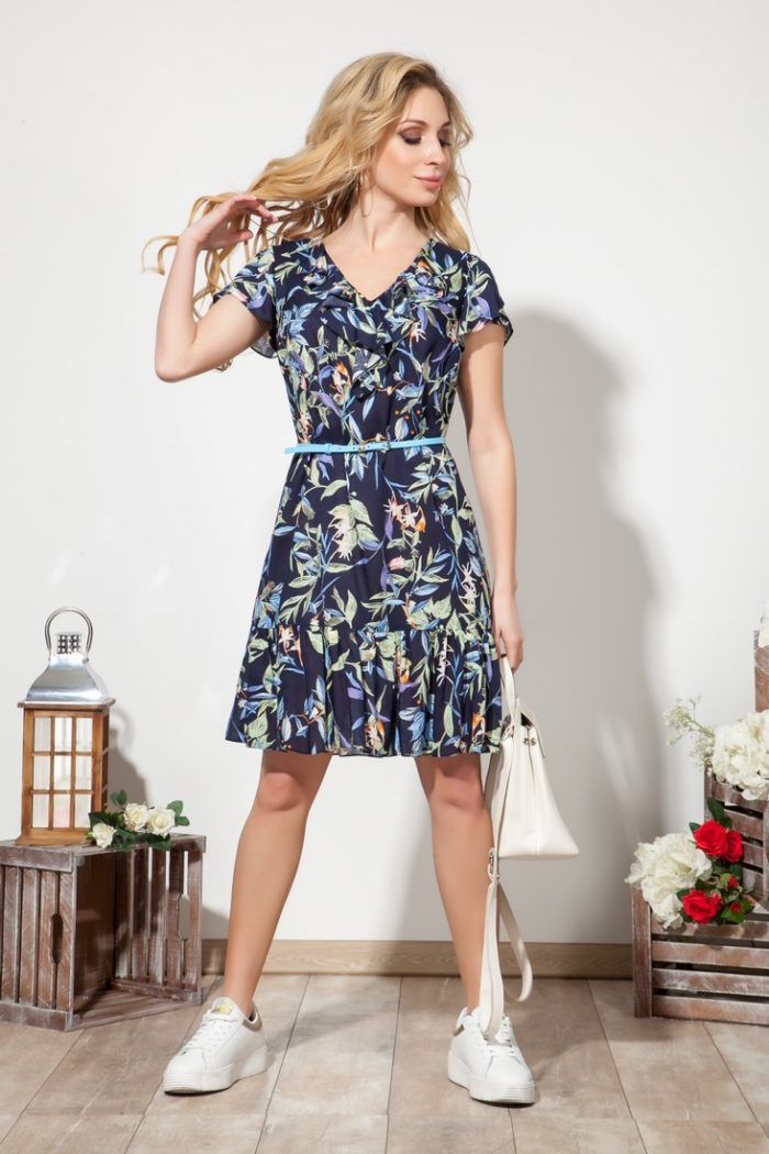 Платье 1531 (44-48) SUMMER TIME 2020