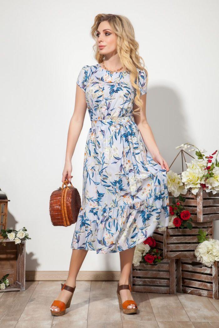 Платье 1532 (44-48) SUMMER TIME 2020