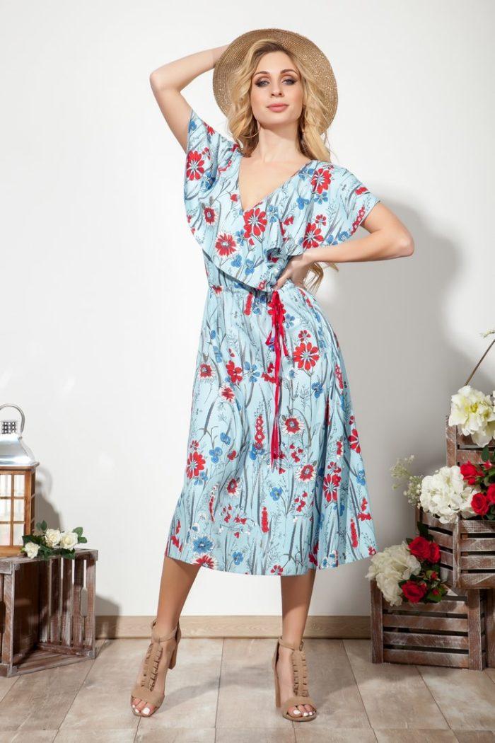 Платье 1554 (46-52) SUMMER TIME 2020