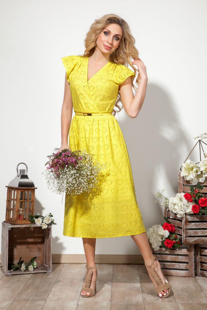 Платье 1522 (44-48) COLLECTION - 2019/2020