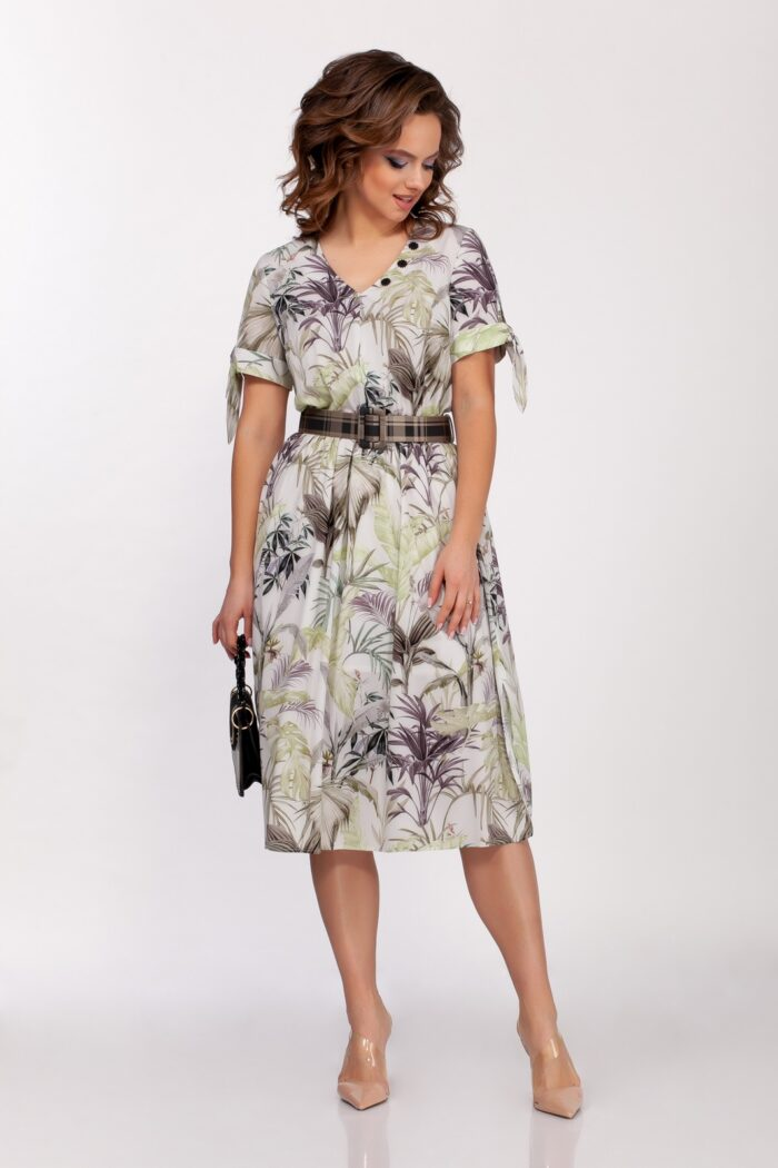 Платье 0202 (42-50) SPRING 2021