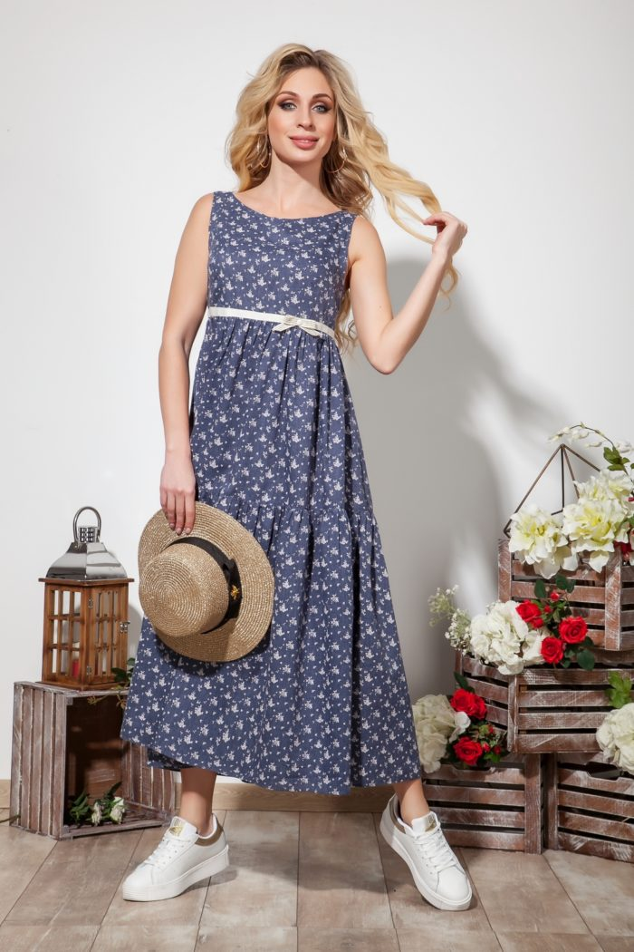 Платье 1561 (44-50) SUMMER TIME 2020