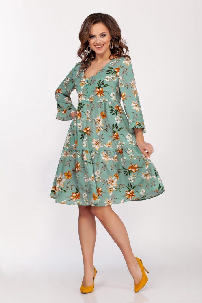Платье 1670 (44-52) SPRING 2021