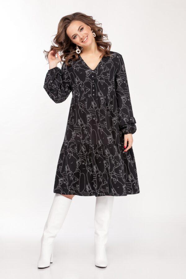Платье 1667 (44-52) SPRING 2021